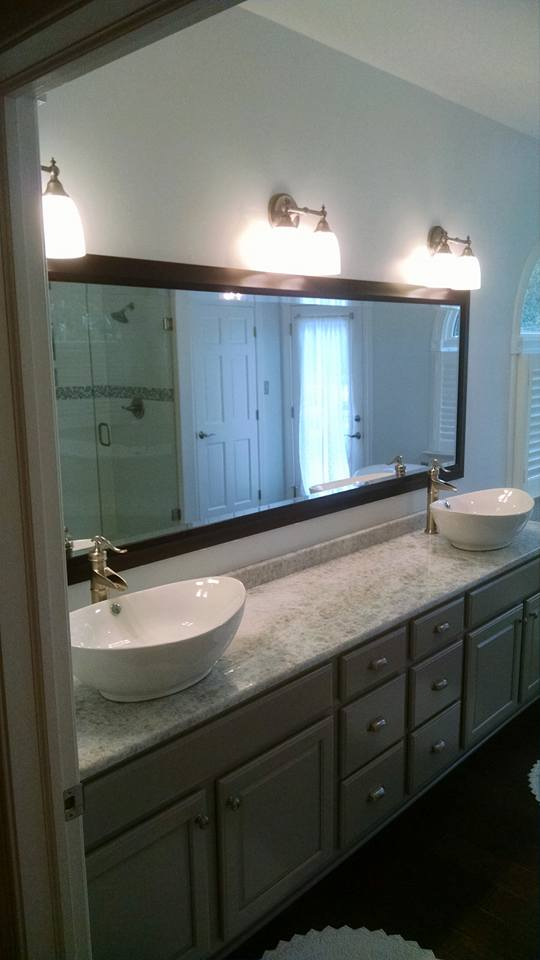 Custom Mirrors Mirror Frames Manquin Richmond VA Mirror And - Bathroom cabinets richmond va